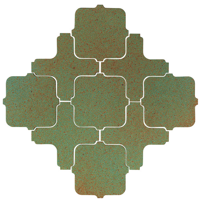 Studio Field Arabesque Pattern 11A Light Copper