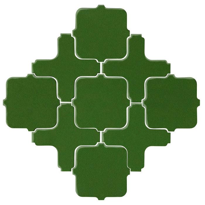 Studio Field Arabesque Pattern 11A Lucky Green 7734c