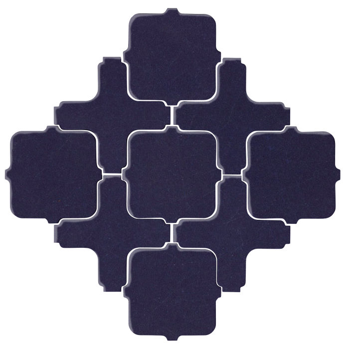 Studio Field Arabesque Pattern 11A Midnight Blue 2965c