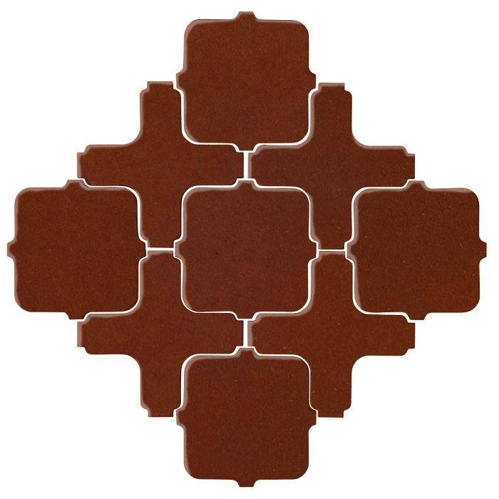 Studio Field Arabesque Pattern 11A Mocha 7581c