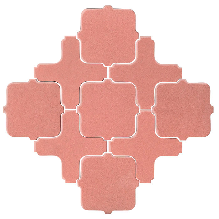 Studio Field Arabesque Pattern 11A Peach Pie