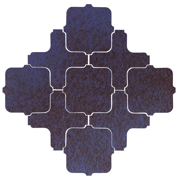 Studio Field Arabesque Pattern 11A Persian Blue