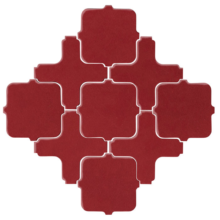 Studio Field Arabesque Pattern 11A Pinot Noir 7642c