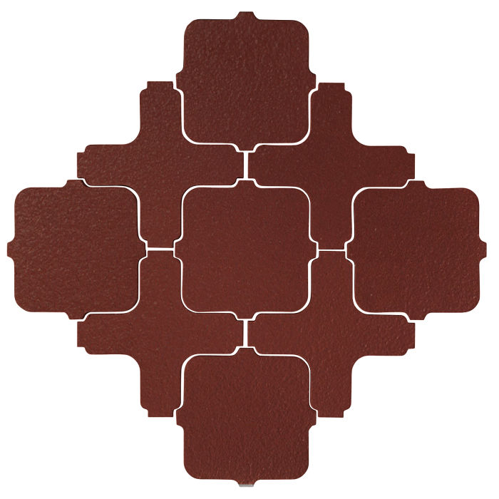Studio Field Arabesque Pattern 11A Pueblo Red