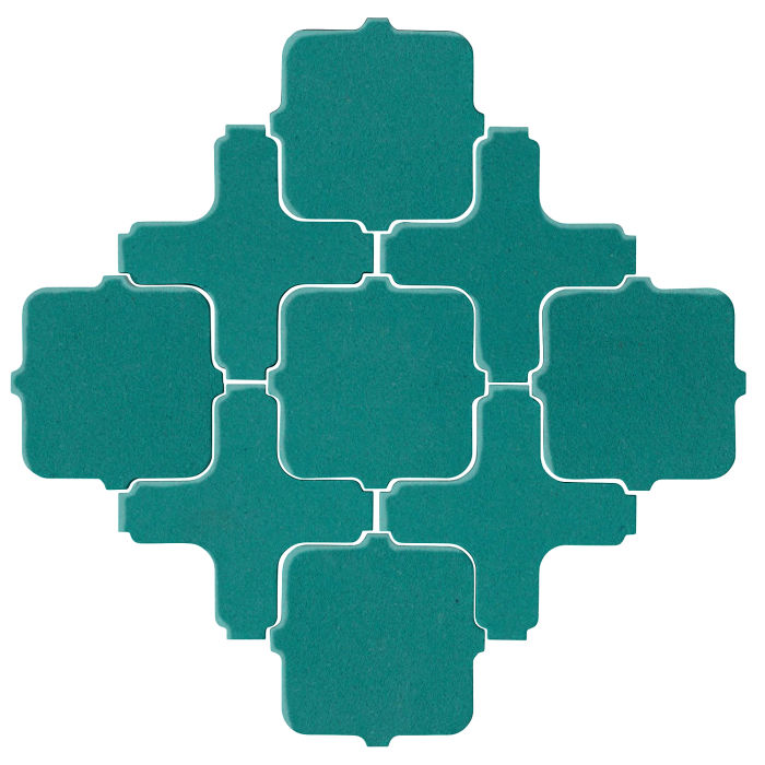 Studio Field Arabesque Pattern 11A Real Teal 5483c