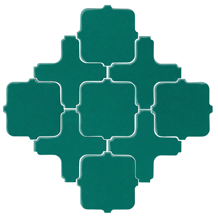 Studio Field Arabesque Pattern 11A Viridian 7721c