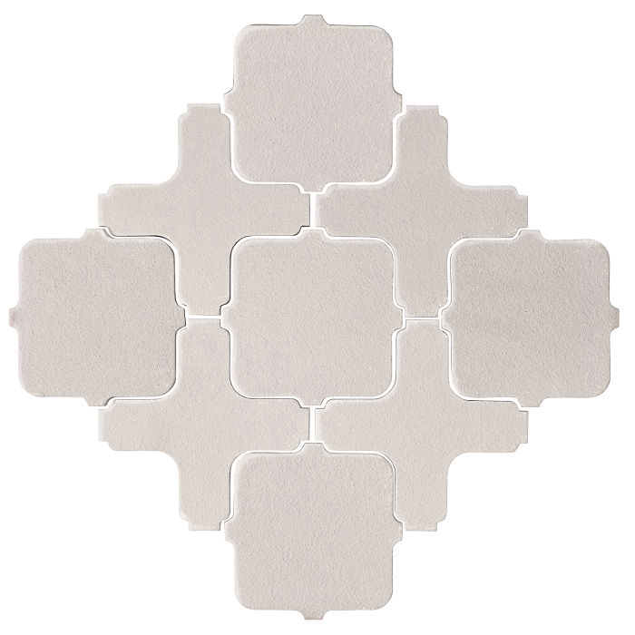 Studio Field Arabesque Pattern 11A Pure White