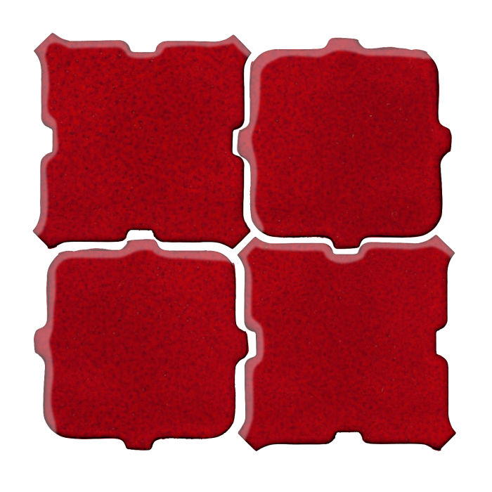 Studio Field Arabesque Pattern 11B Cadmium Red 202c