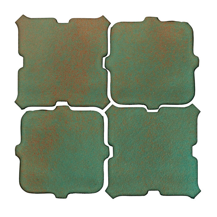 Studio Field Arabesque Pattern 11B Copper