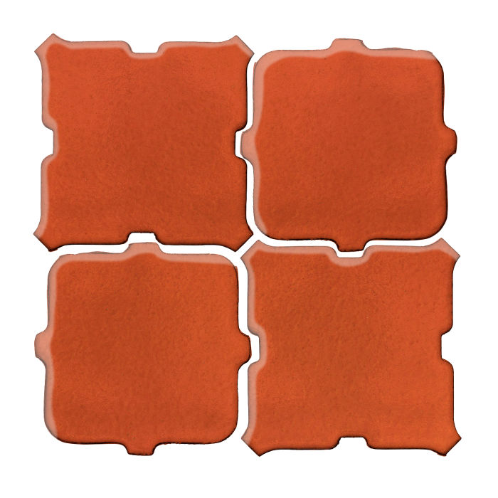 Studio Field Arabesque Pattern 11B Hazard Orange