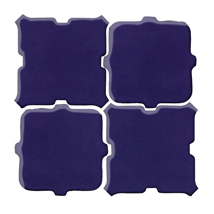 Studio Field Arabesque Pattern 11B Ultramarine 2758c