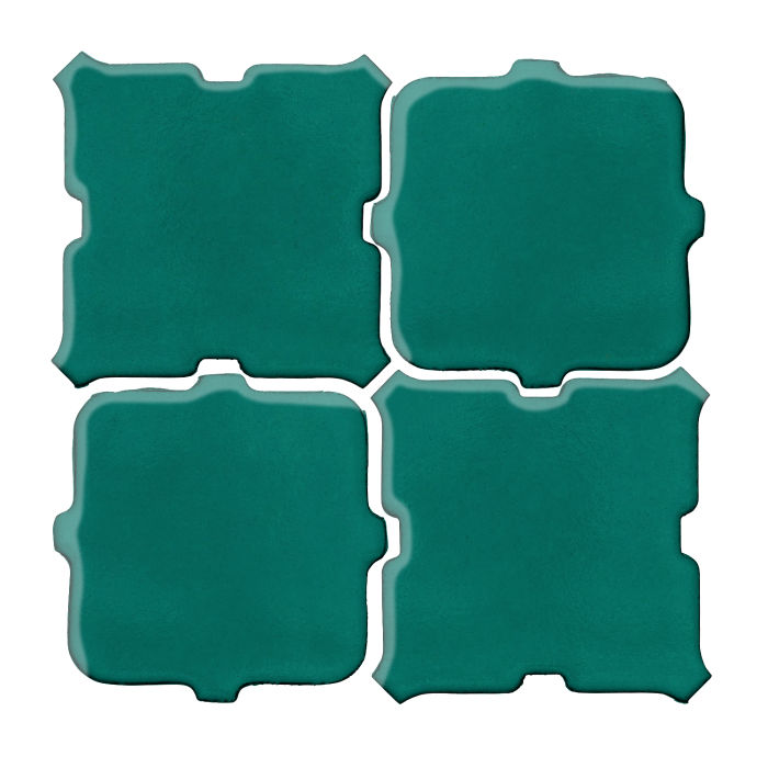 Studio Field Arabesque Pattern 11B Viridian 7721c