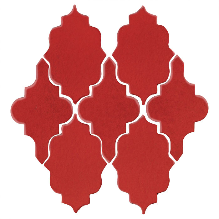 Studio Field Arabesque Pattern 12 Apple Valley Red