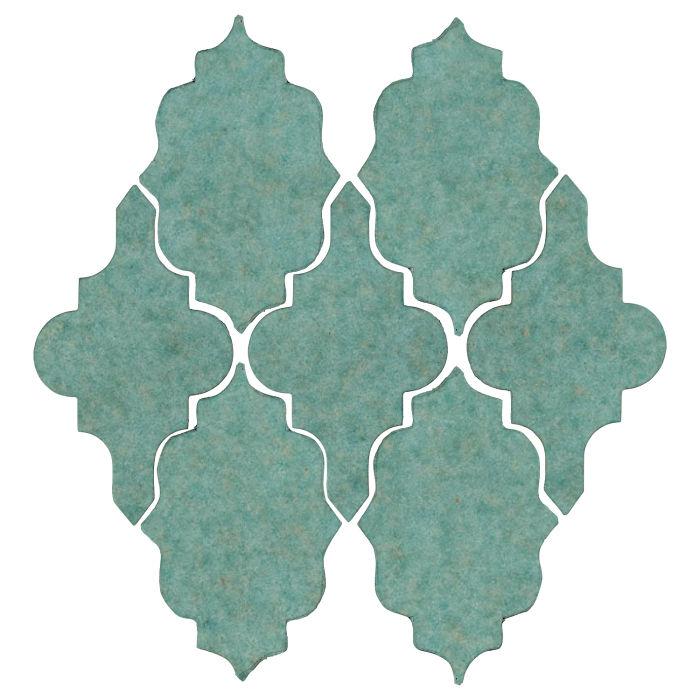 Studio Field Arabesque Pattern 12 Aqua 5503u