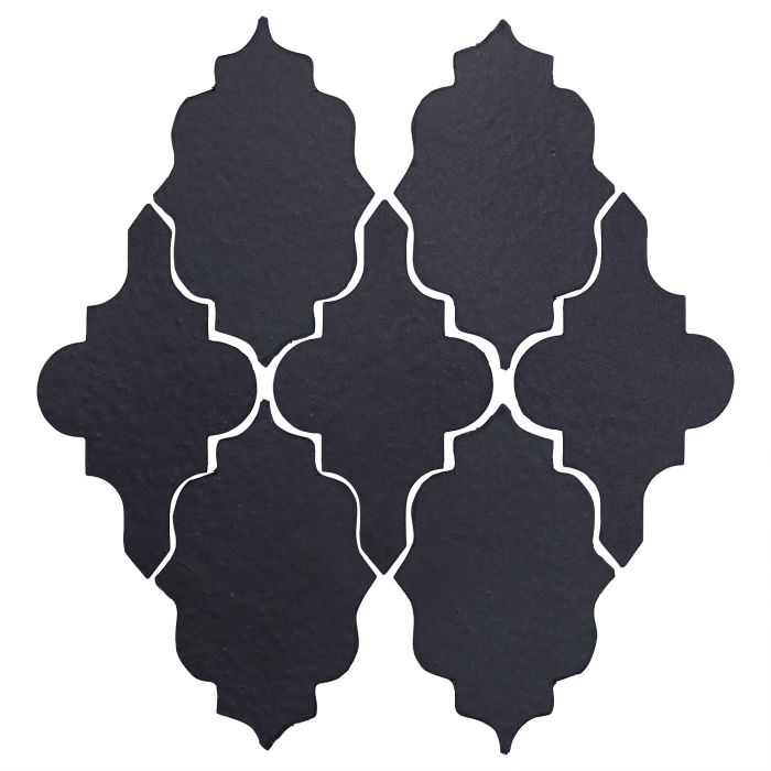Studio Field Arabesque Pattern 12 Black Diamond