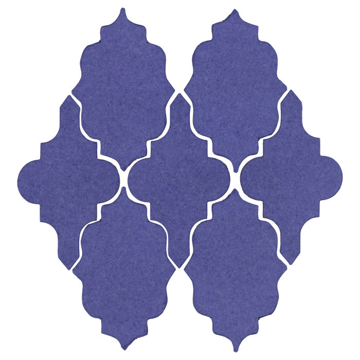 Studio Field Arabesque Pattern 12 Blue Satin 7684u