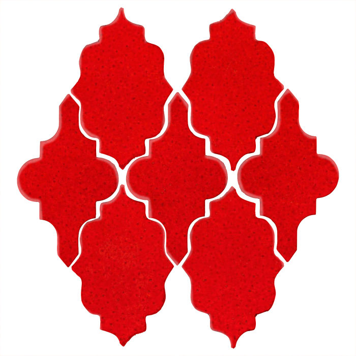 Studio Field Arabesque Pattern 12 Cadmium Orange 7620c