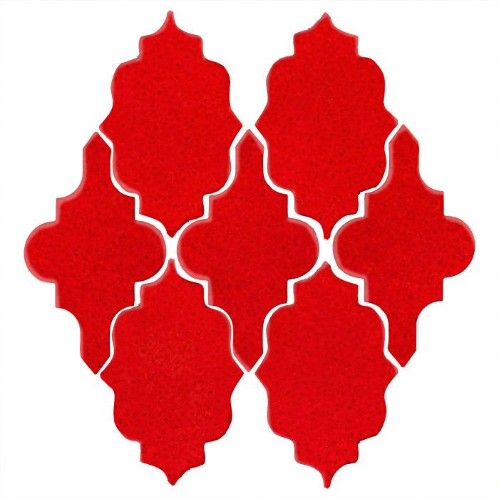 Studio Field Arabesque Pattern 12 Cadmium Orange 7620c