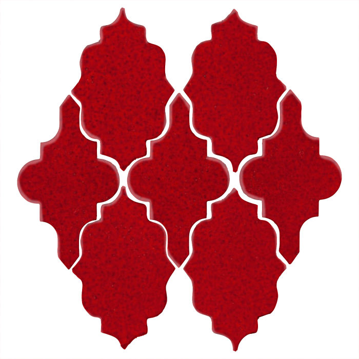 Studio Field Arabesque Pattern 12 Cadmium Red 202c