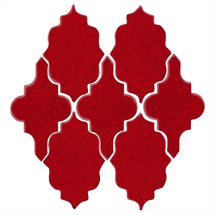 Studio Field Arabesque Pattern 12 Cadmium Red 202c