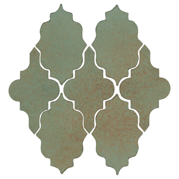 Studio Field Arabesque Pattern 12 Chrome