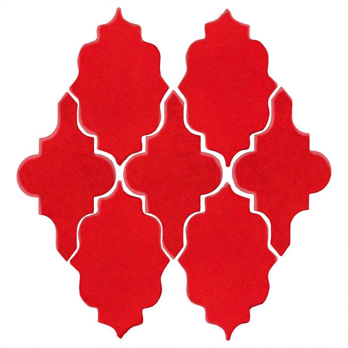 Studio Field Arabesque Pattern 12 Cherry Tomato 7621c