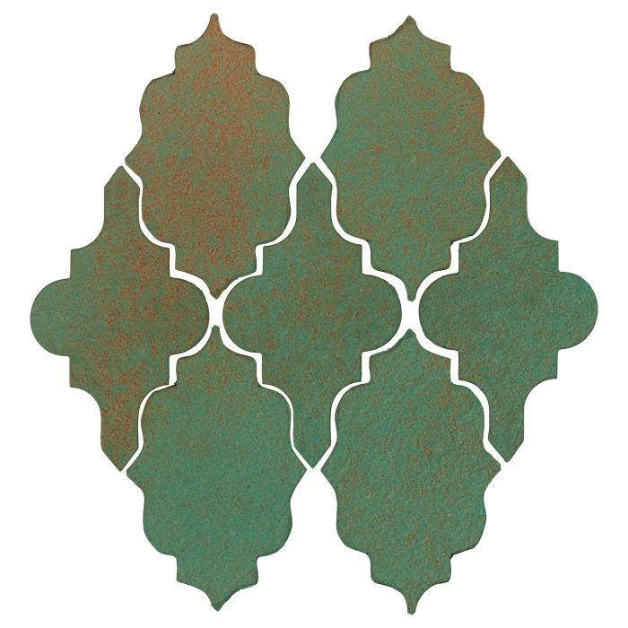 Studio Field Arabesque Pattern 12 Copper