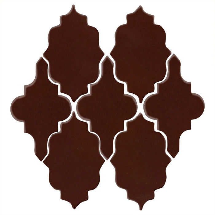 Studio Field Arabesque Pattern 12 Cordovan 476c