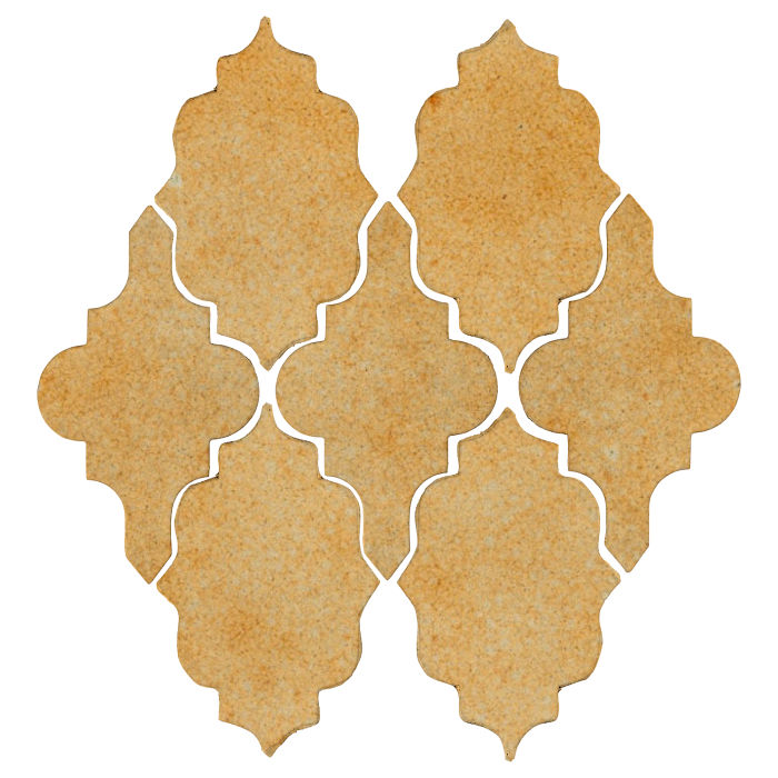 Studio Field Arabesque Pattern 12 Deli Mustard 7551u