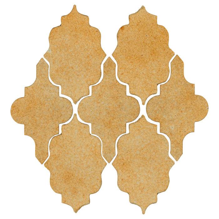 Studio Field Arabesque Pattern 12 Deli Mustard 7551u