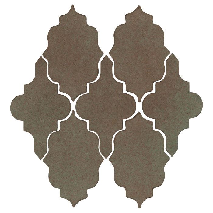Studio Field Arabesque Pattern 12 Elder Green