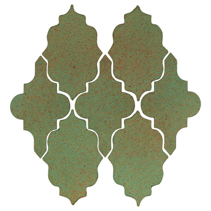 Studio Field Arabesque Pattern 12 Light Copper