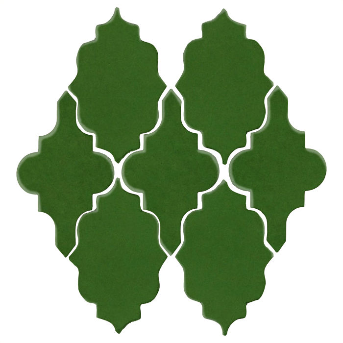 Studio Field Arabesque Pattern 12 Lucky Green 7734c