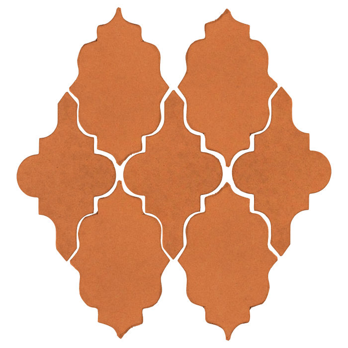 Studio Field Arabesque Pattern 12 Pottery Brown 470u