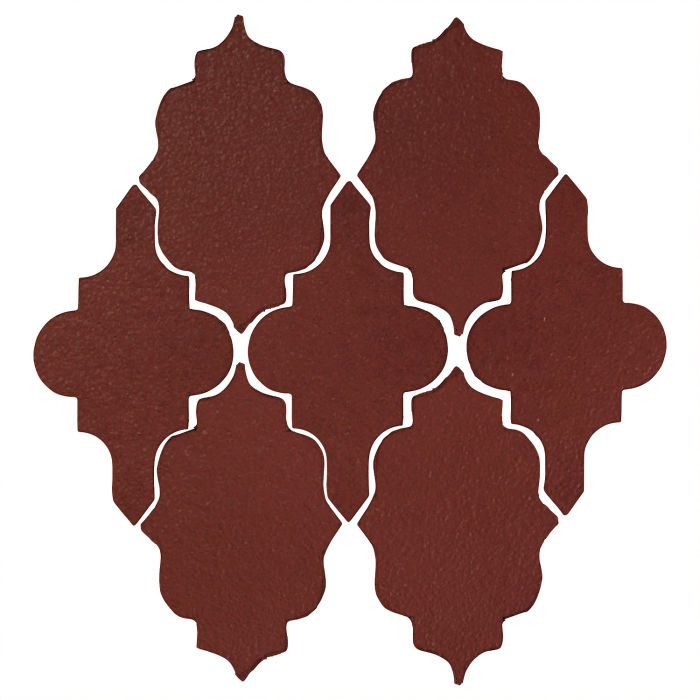 Studio Field Arabesque Pattern 12 Pueblo Red