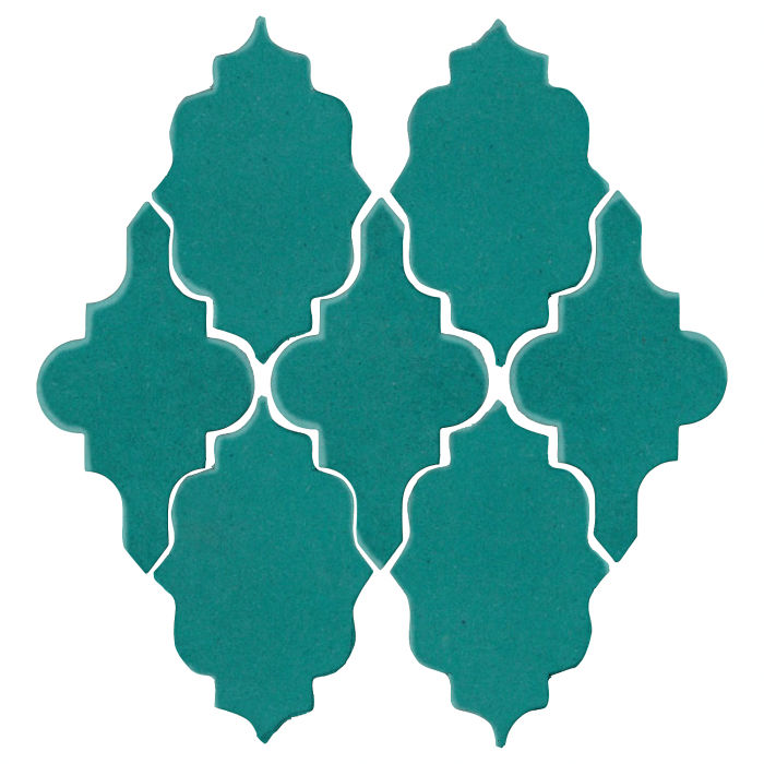 Studio Field Arabesque Pattern 12 Real Teal 5483c