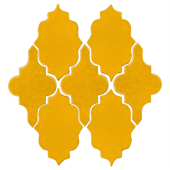 Studio Field Arabesque Pattern 12 Sunflower 1225c
