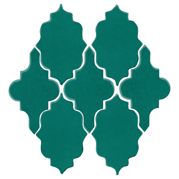 Studio Field Arabesque Pattern 12 Viridian 7721c