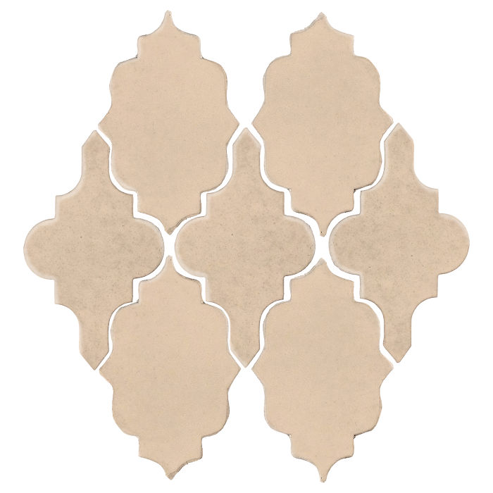 Studio Field Arabesque Pattern 12 White Bread 7506c