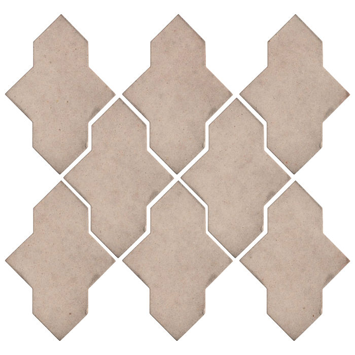 Studio Field Arabesque Pattern 2A Alabaster CG1u