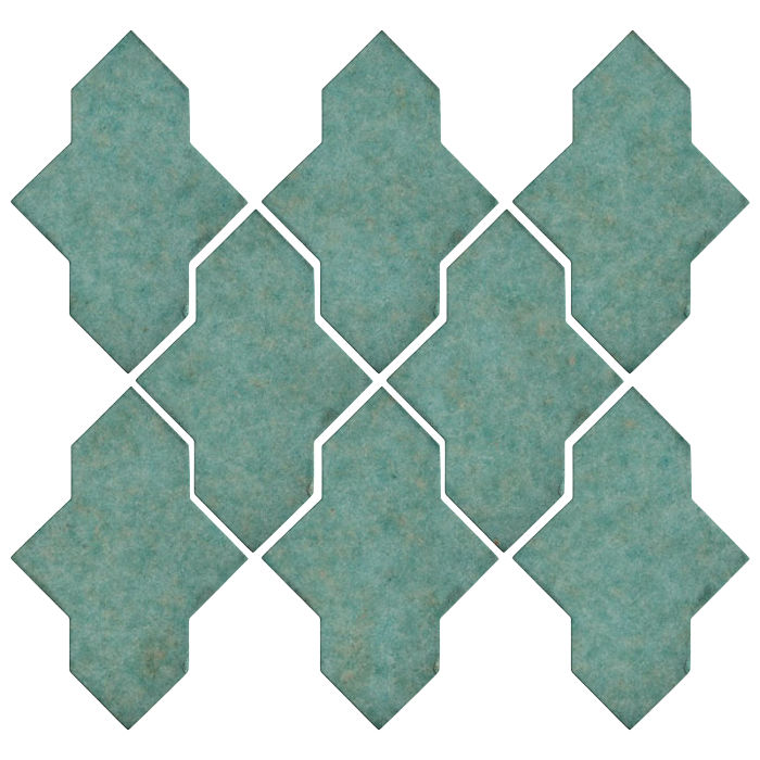 Studio Field Arabesque Pattern 2A Aqua 5503u