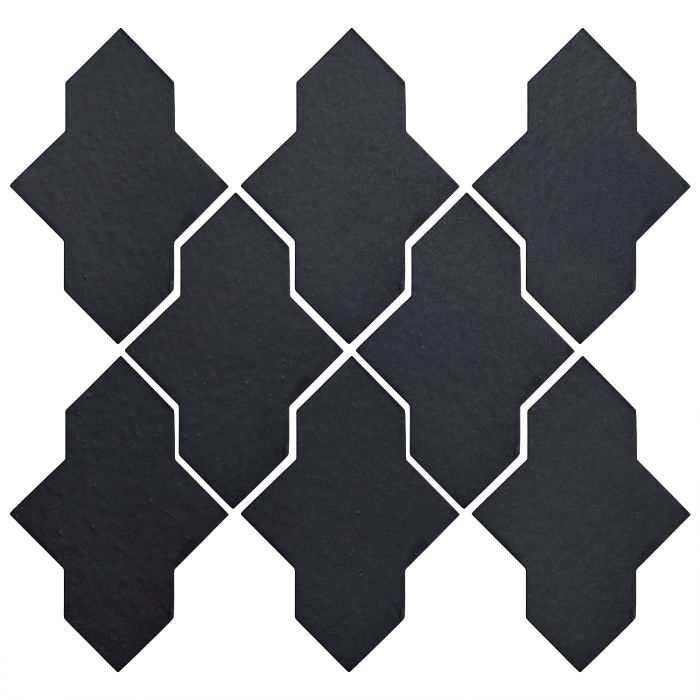 Studio Field Arabesque Pattern 2A Black Diamond