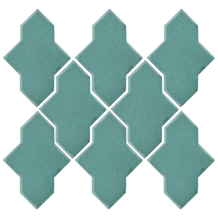 Studio Field Arabesque Pattern 2A Blue Haze 7458c