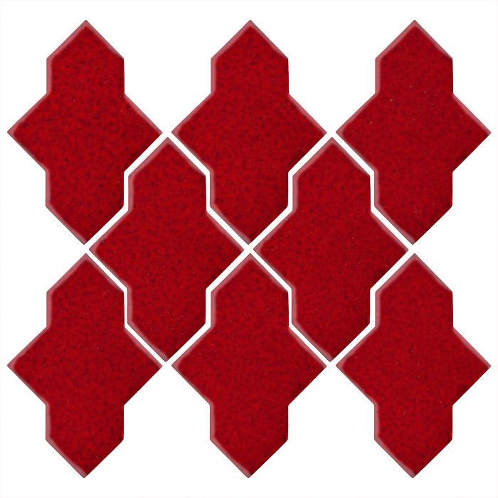 Studio Field Arabesque Pattern 2A Cadmium Red 202c