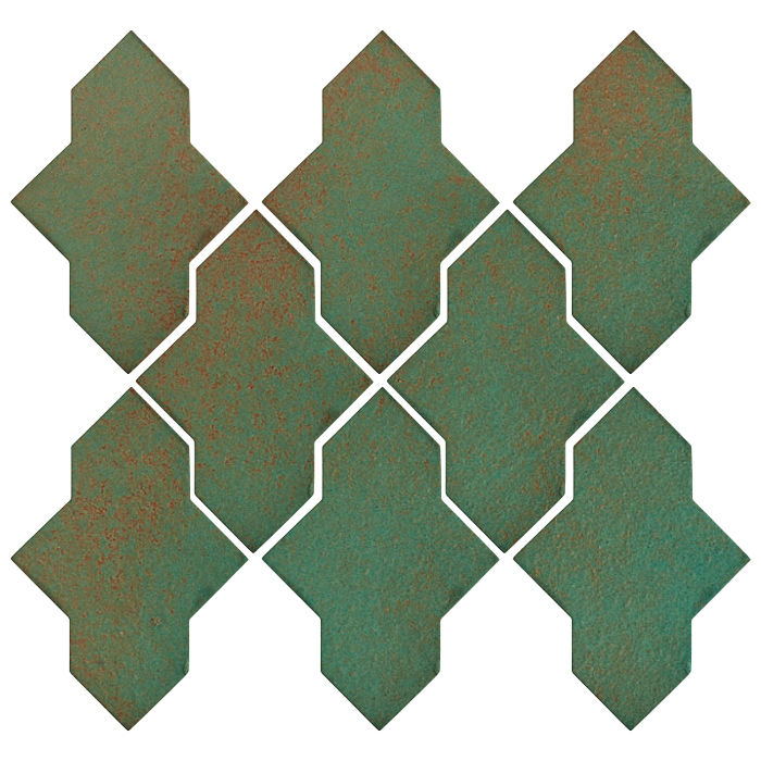 Studio Field Arabesque Pattern 2A Copper