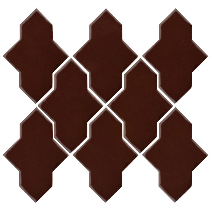 Studio Field Arabesque Pattern 2A Cordovan 476c