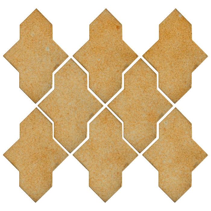Studio Field Arabesque Pattern 2A Deli Mustard 7551u