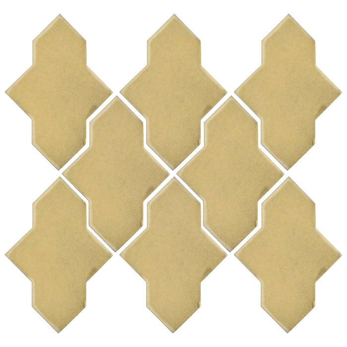 Studio Field Arabesque Pattern 2A Egg Cream 0131c
