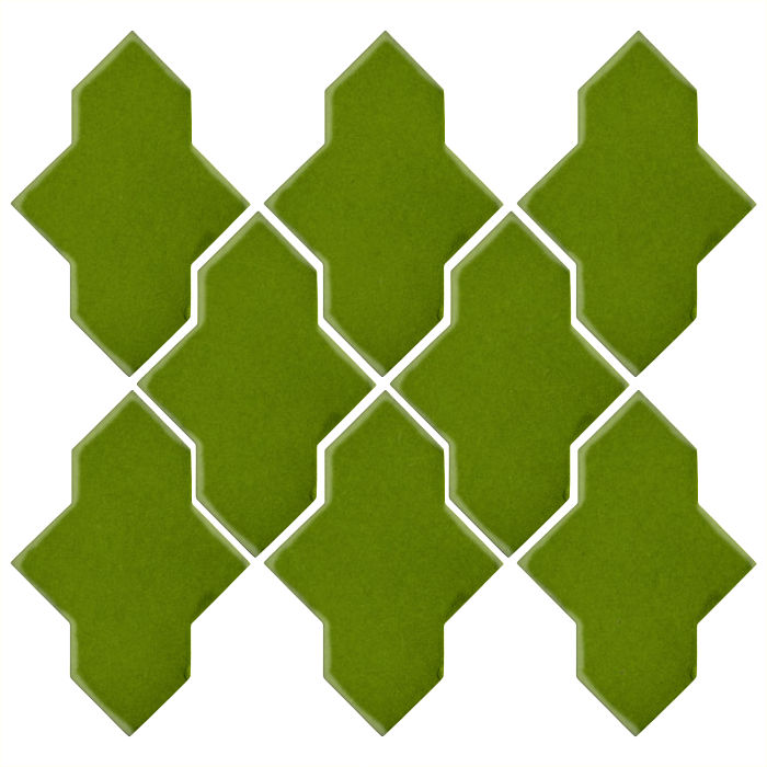 Studio Field Arabesque Pattern 2A Jalapeno 7741c