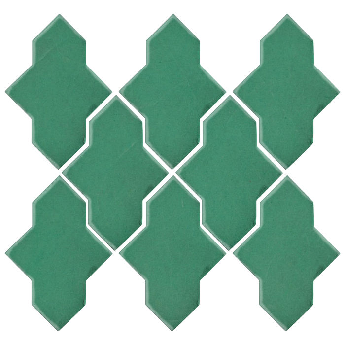 Studio Field Arabesque Pattern 2A Kale 7723c